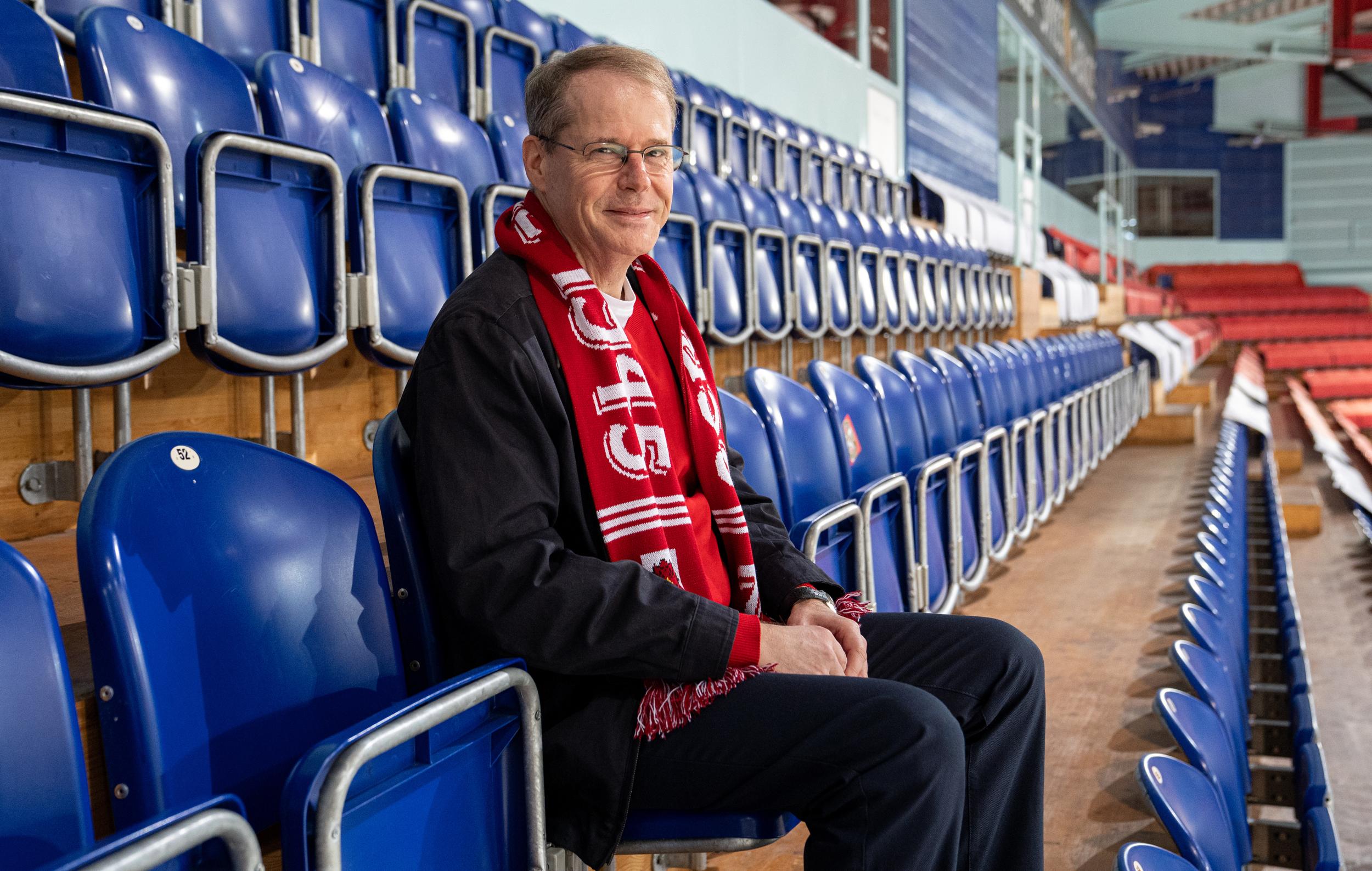 Christian Schmid in der SGKB Arena