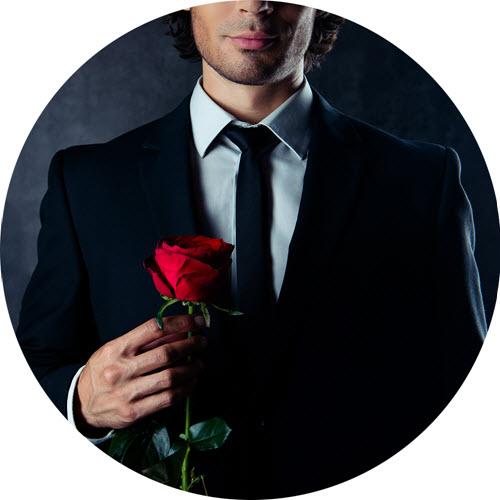 Wer bekommt die Rose?