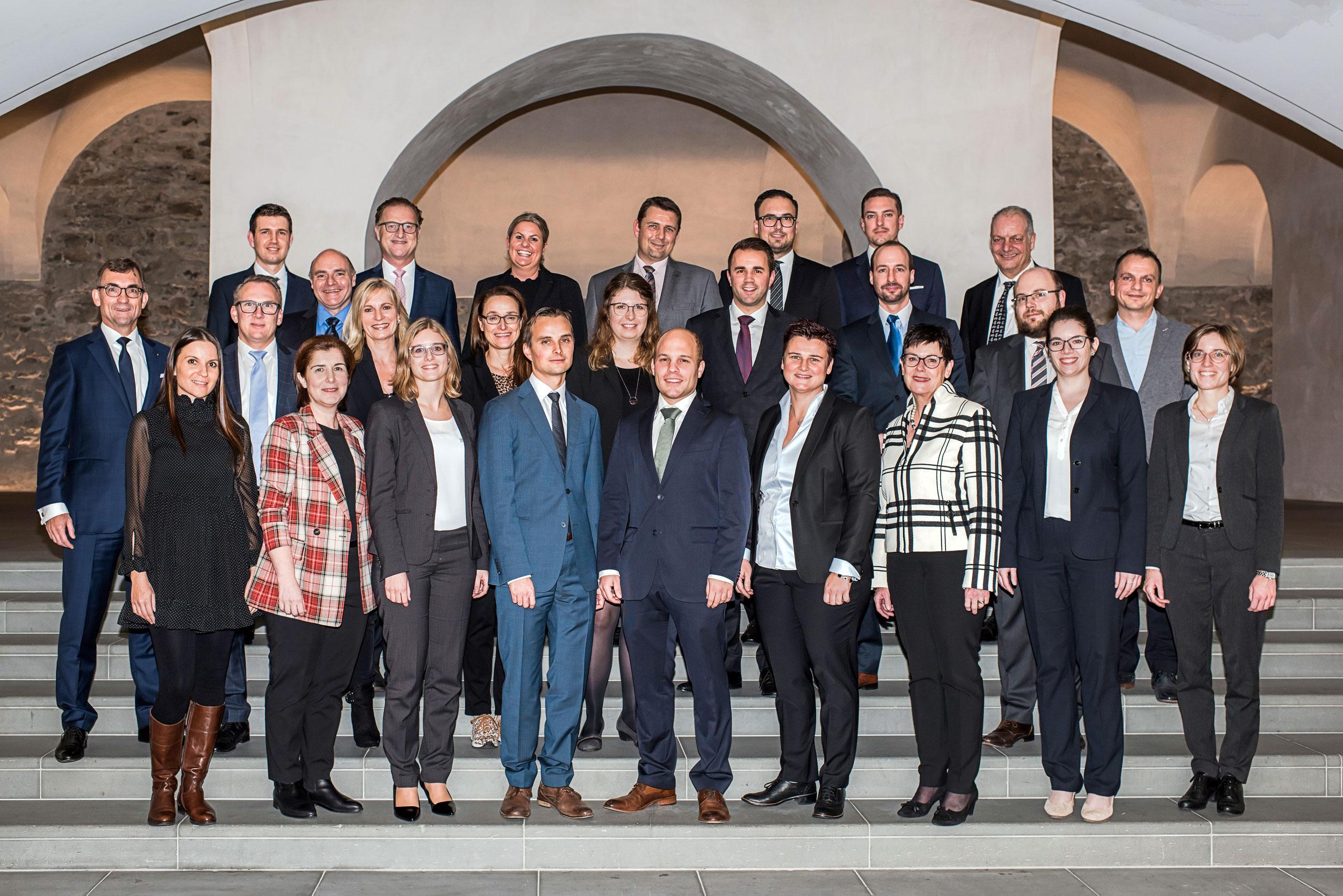 SGKB Beförderungen 2019 Gruppenfoto