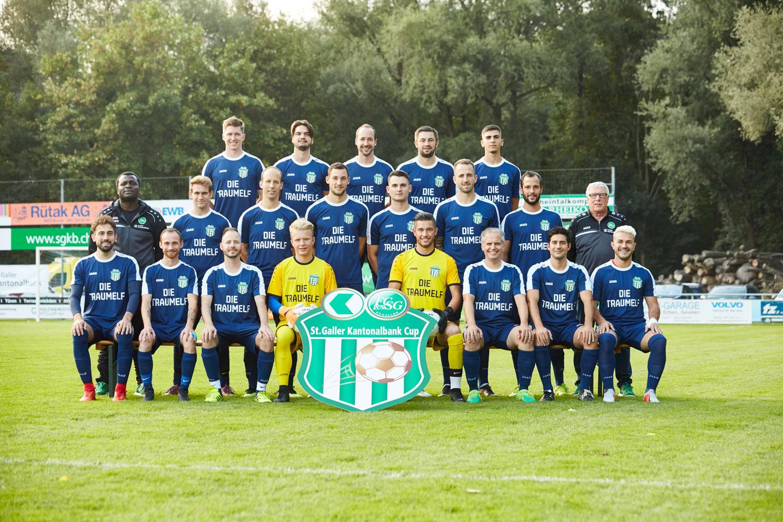 Mannschaftsfoto SGKB-Traumelf 2018