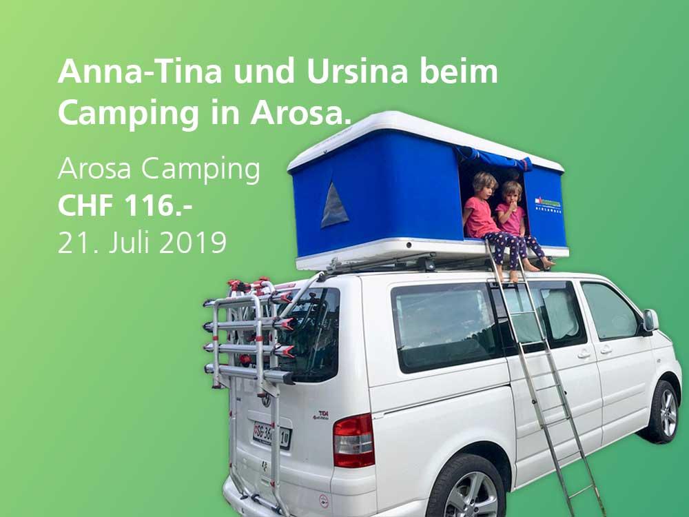 TWINT Gewinnerinnen Anna-Tina und Ursina