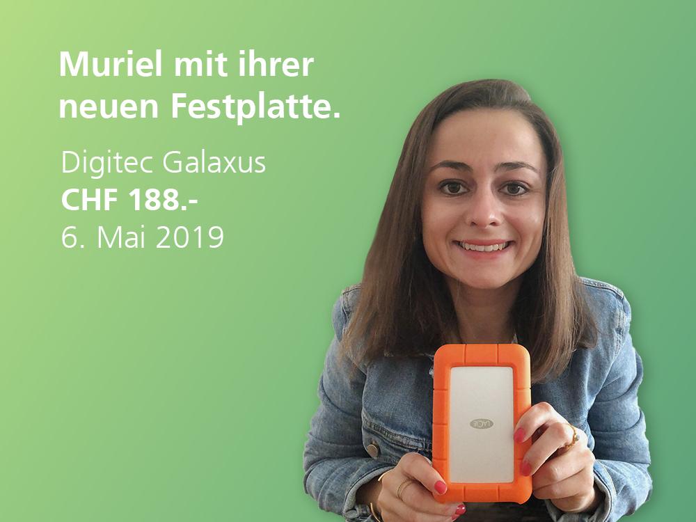 TWINT Gewinnerin Muriel