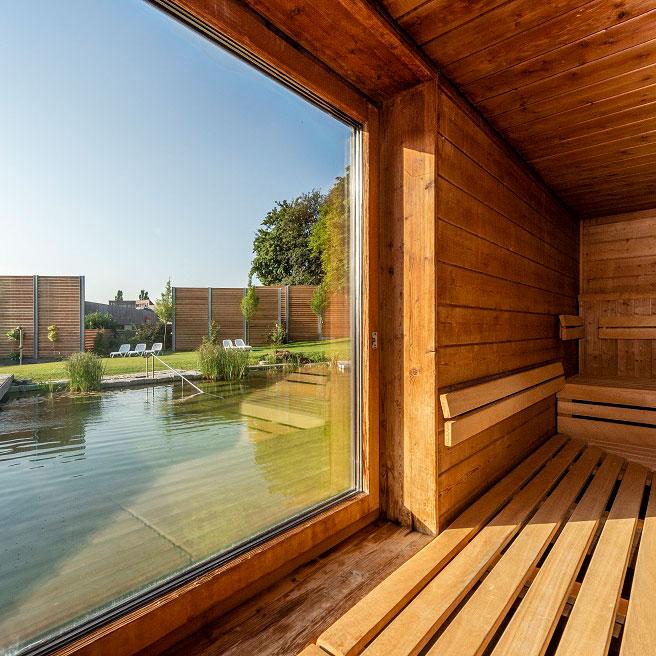 Säntispark, Sauna
