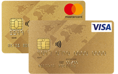 MasterCard/Visa Gold International