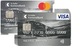 Die SGKB MasterCard/Visa Silber