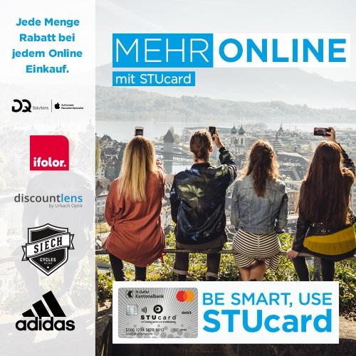 Online-Rabatte mit STUcard